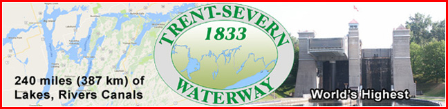 Explore The Trent Severn Waterway with maps, information, GPS and how the locks work.